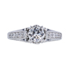 0.70 ct. Round Cut Solitaire Ring, H, VS2 #3