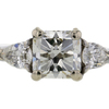 2.12 ct. Radiant Cut 3 Stone Ring #3