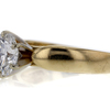 Antique GIA 1.35 ct. Round Cut Solitaire Ring #2