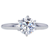 1.14 ct. Round Cut Solitaire Ring, G, VS2 #3