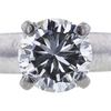 0.98 ct. Round Cut Solitaire Ring, H, SI2 #2