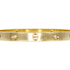 CARTIER LOVE BRACELET, 18K YELLOW GOLD 4 DIAMONDS #3