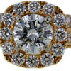 1.58 ct. Round Cut Halo Ring #1