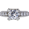 1.12 ct. Round Cut Solitaire Ring, F, VVS1 #3