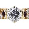 1.42 ct. Round Cut Bridal Set Ring #4