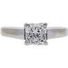 1.2 ct. Radiant Cut Solitaire Ring, G-H, I1 #1