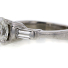 1.02 ct. Oval Cut 3 Stone Ring #2