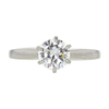 0.85 ct. Round Cut Solitaire Ring, G, SI2 #3