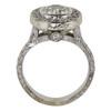 1.07 ct. Round Cut Halo Ring, J, SI1 #4