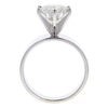 3.0 ct. Round Cut Solitaire Ring, G, I2 #4