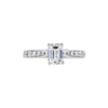 1.01 ct. Emerald Cut Solitaire Ring, I, VS2 #3