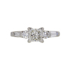 1.01 ct. Princess Cut Solitaire Ring, G, SI1 #3