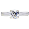 1.05 ct. Round Cut Solitaire Ring, G, SI1 #3