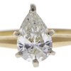 1.12 ct. Pear Cut Solitaire Ring, J, VS1 #4