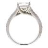 1.7 ct. Princess Cut Bridal Set Ring, I, VVS2 #4