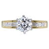 1.50 ct. Round Cut Solitaire Ring, G, SI2 #1