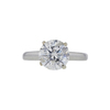 1.70 ct. Round Cut Solitaire Ring, I, I2 #2