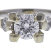 1.01 ct. Round Cut Solitaire Ring, F, SI2 #4