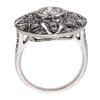 0.73 ct. Round Cut Central Cluster Ring #3