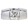 1.77 ct. Princess Cut Bridal Set Ring, M, SI2 #2