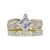 1.51 ct. Princess Cut Bridal Set Ring, J, VS2 #4