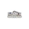0.5 ct. Round Cut Bridal Set Ring, H, VS1 #3