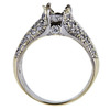 1.02 ct. Round Cut Bridal Set Ring, I, I1 #4