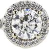 1.08 ct. Round Cut Bridal Set Ring, I, SI2 #4