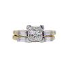 1.41 ct. Princess Cut Bridal Set Ring, J, VS2 #2