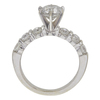 1.47 ct. Round Cut Bridal Set Ring, H-I, I2 #2