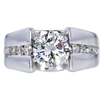 1.36 ct. Round Cut Solitaire Ring, J, SI1 #1