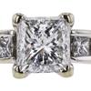 1.27 ct. Princess Cut Solitaire Ring, F, I1 #4