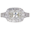 1.36 ct. Cushion Cut Halo Other Ring, H, VS2 #3