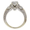 0.99 ct. Round Cut Ring, G-H, I1 #2
