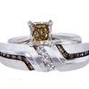1.44 ct. Radiant Cut Bridal Set Ring, Fancy, SI2 #3