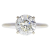 2.12 ct. Round Cut Solitaire Ring, J-K, I2 #1