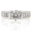 .96 ct. Round Cut Solitaire Ring #4