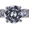 1.30 ct. Round Cut Bridal Set Ring, I, VVS1 #4