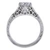1.00 ct. Round Cut Bridal Set Ring, D, VVS2 #3