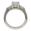 1.01 ct. Round Cut Bridal Set Ring, F, SI2 #4