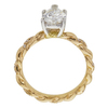 1.3 ct. Pear Cut Solitaire Ring, H, VS1 #4