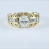 .992 ct. Oval Cut Bridal Set Ring #2