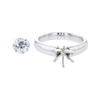 1.0 ct. Round Cut Solitaire Ring, D, VS2 #3