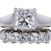 1.51 ct. Radiant Cut Bridal Set Ring #1