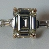 3.14 ct. Emerald Cut 3 Stone Ring #1
