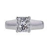 1.67 ct. Cushion Cut Solitaire Ring, G, SI2 #2