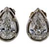 Pear Cut Stud Earrings #1