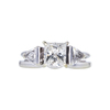 1.01 ct. Princess Cut Bridal Set Ring, H, SI1 #4