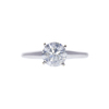 1.16 ct. Round Cut Solitaire Ring, H, I1 #3