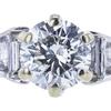 1.31 ct. Round Cut Bridal Set Ring, I, I1 #4